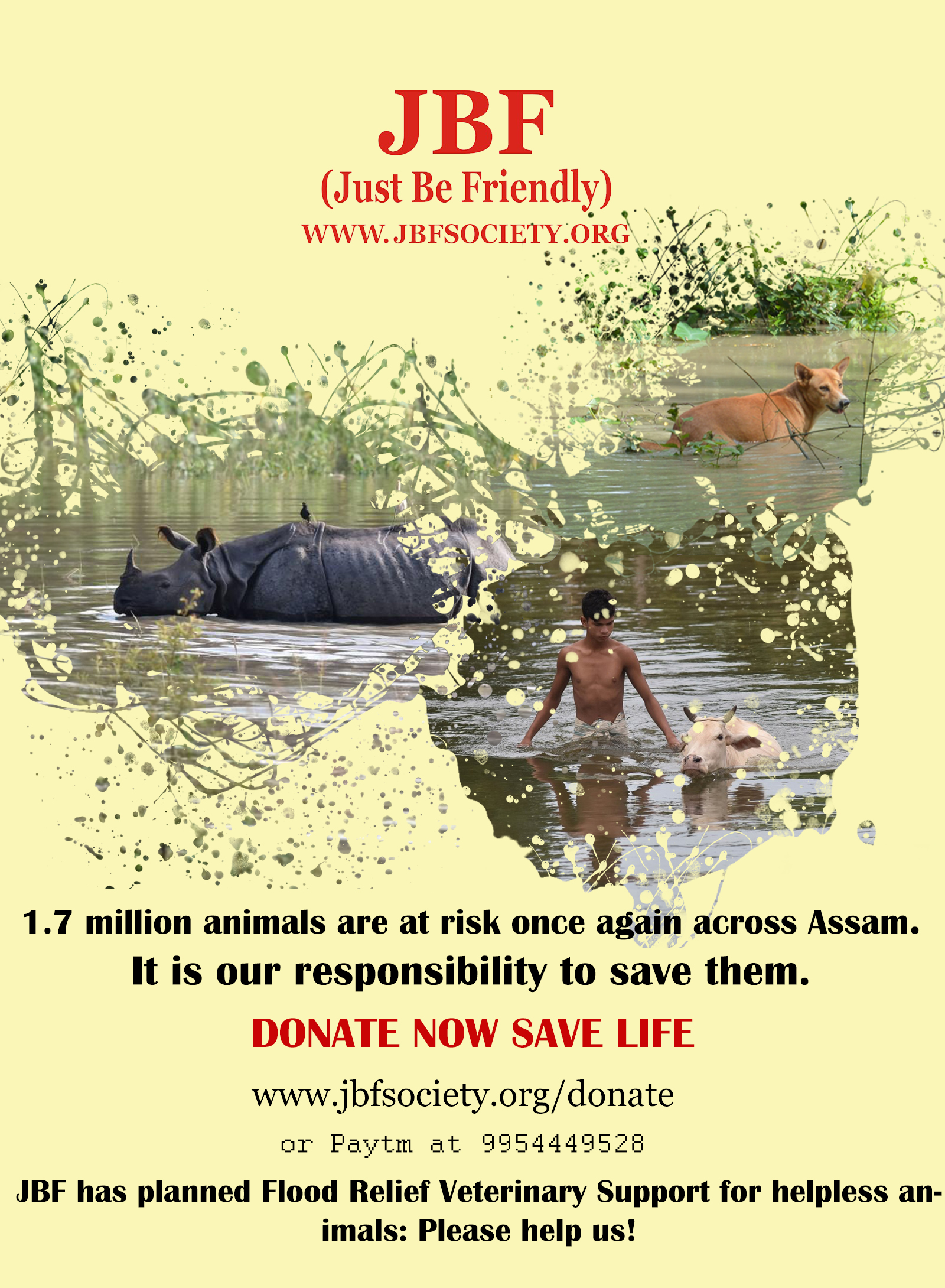 Our responsibility to save the suffering animals: More than 1 7